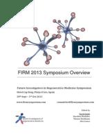 FIRM Symposium 2013