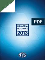 Memoria Pil 2013