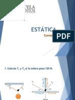ejemplos estatica