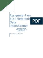 Assignment on EDI