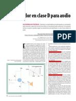 Amplificador Clase D