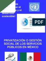 Sobre La Ley General de Aguas en Mexico