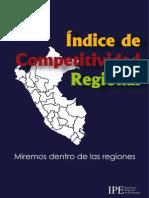 Indice de Competitividad Regional InCORE 2015