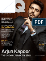 GQ Magazine - January 2015 In