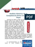 Analisis de Coca Cola y Pepsy