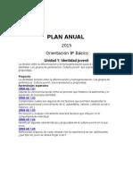 Planificacion Anual Orientacion 2015 Octavo