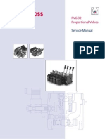 PVG 32 Proportional Valves Service Manual