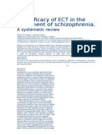 Efficacy of ECT