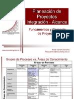 Planeacion de Proyectos Integracion-Alcance