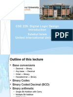 Digital logic and Design Introduction