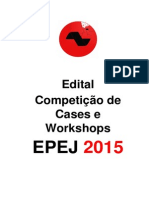 EPEJ 2015 - Edital Cases e Workshop