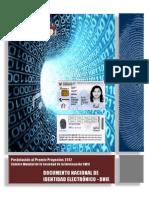Documento de identidad peruano electronico