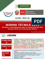 Norma Técnica 2015