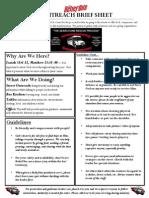 Brief Sheet - Bus Outreach