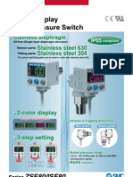 2-Color Display Digital Pressure Switch