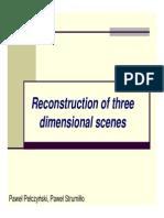 3D Reconstruction