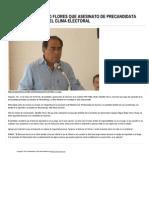 12-03-15 Reconoce Astudillo Flores Que Asesinato de Precandidata Perredista Afectó El Clima Electoral