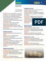 Libro de mano Semana Santa de Baza 2015
