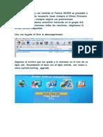 Manual Actualización Talcom HD500 Edan