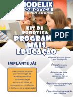 Apresentação - Kit de Robótica Programa Mais Educação