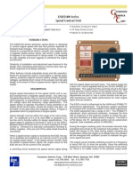 Manual Regulador de Velocidade Gac Esd 5111