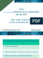 8. Efectos Practicos en La Aplicacion de NIIFs