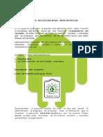 Proyecto Aplicación Móvil Apps Interclub
