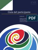 Guía del participante Curso de evaluadores INEE