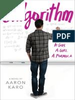 Galgorithm by Aaron Karo (excerpt)