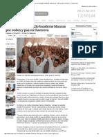 17-03-15 Ondean Con Astudillo Banderas Blancas Por Orden y Paz en Guerrero