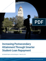Increasing Postsecondary Attainment Through Smarter Student-Loan Repayment