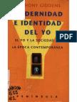 Giddens Anthony Modernidad e Identkidad Del Yo