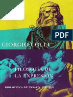 Colli, Giorgio - Filosofía de la expresión.PDF