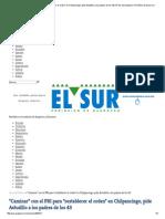 """17-03-15 """"Caminar"""" con el PRI para """"Restablecer el orden"""" en Chilpancingo, pide Astudillo a los padres de los 43"""