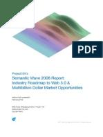 Project10X's / Semantic Wave 2008 Report