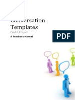 4 Conversation Expansion Templates