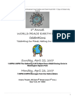 earth day 2007 program