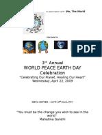 earth day 2009 program