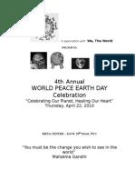 earth day 2010 program