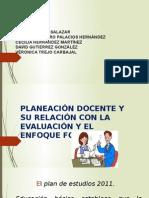 Planeación docente y su relación con la evaluación