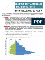Newsletter 14 - Égalité Professionnelle