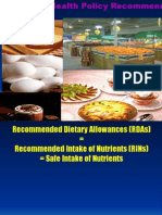 Dietary Standard RDA
