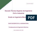 Fundamentos de Ingeniería Eléctrica