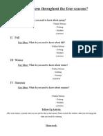 graphic organizer checklist
