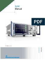 FSQ Operating Manual