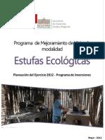 Estufas Ecologicas 2012