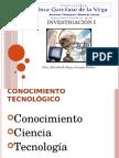Conocimiento y Ciencia 1