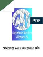 Catalogo Mamparas