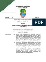 LD Perda 11 Tahun 2014 Tentang Penanggulangan Bencana