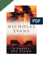 A Través Del Fuego - Nicholas Evans